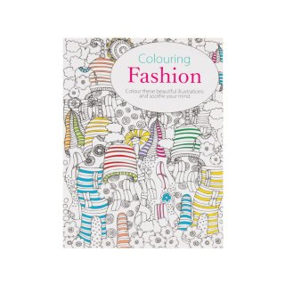 The Mini Book of Colouring Fashion