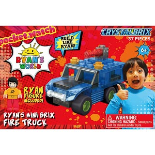 Ryan's World Mini Brix - Fire Truck