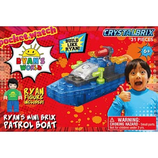 Ryan's World Mini Brix - Patrol Boat