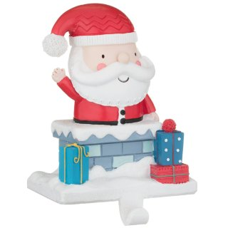 Novelty Character Stocking Holder - Santa