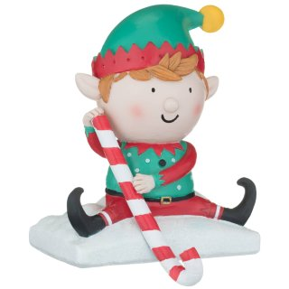Novelty Character Stocking Holder - Elf