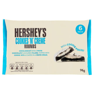Hershey's Cookies 'n' Creme Rounds 6pk