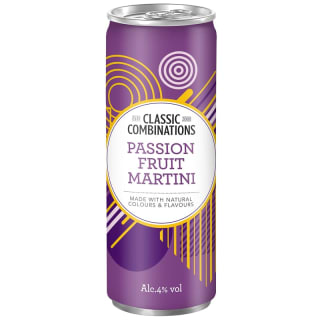 Classic Combinations Passion Fruit Martini 250ml
