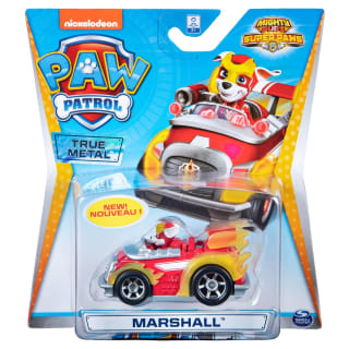 Paw Patrol Mighty Pups Super Paws Diecast Car - Marshall