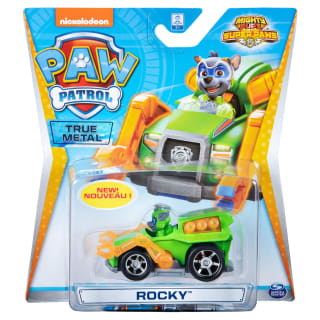Paw Patrol Mighty Pups Super Paws Diecast Car - Rocky