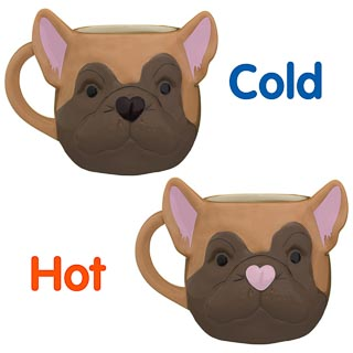 3D Heat Changing Mug - Dog
