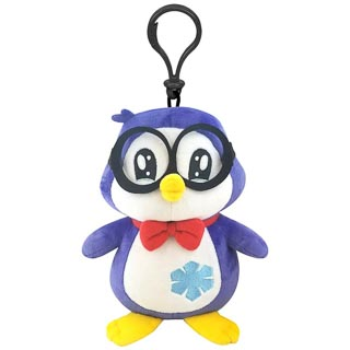 Ryan's World Clip on Plush Toy - Peck Penguin