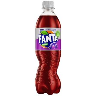 Fanta Zero 500ml - Grape