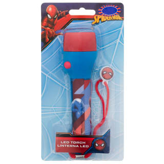 Superhero LED Torch - Spider-Man