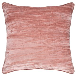 Paloma Crinkle Cushion 48 x 48cm - Blush