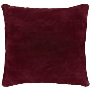 Redwood Faux Fur Cushion
