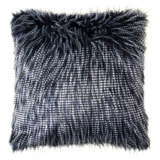 Peacock Faux Fur Cushion