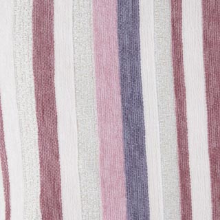 Chenille Stripe Cushion - Blush