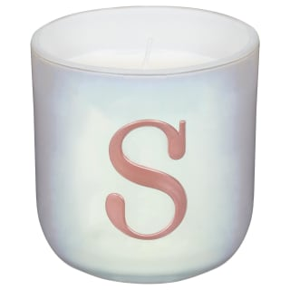 Alphabet Scented Candle