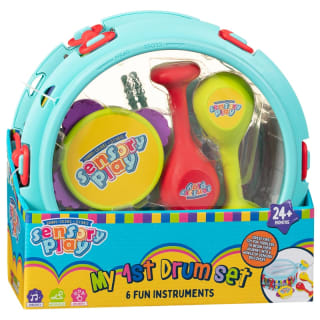 Sensory Play My First Drum Set