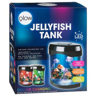 LED Colour Changing Jellyfish Tank