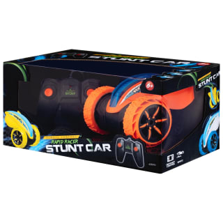 RC Rapid Racer Stunt Car - Orange