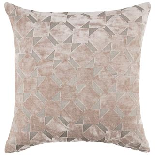 Radcliffe Double Sided Velvet Cushion - Mink
