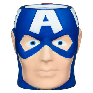 Superhero 3D Mug - Captain America
