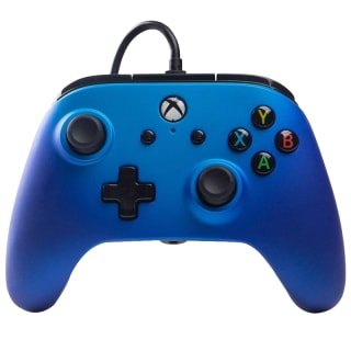 Xbox One Sapphire Wired Controller