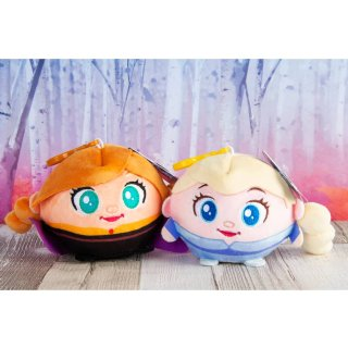 Frozen Plush Clip-On Squeeze Ball