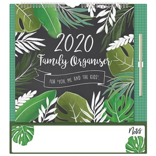 2020 Family Organiser - Chalk