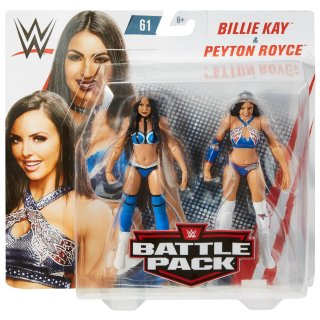 WWE Billie Kay & Peyton Royce Battle Pack Action Figures 2pk