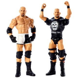 WWE Goldberg vs Stone Cold Battle Pack Action Figures 2pk