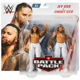 WWE Jey Uso & Jimmy Uso Battle Pack Action Figures 2pk