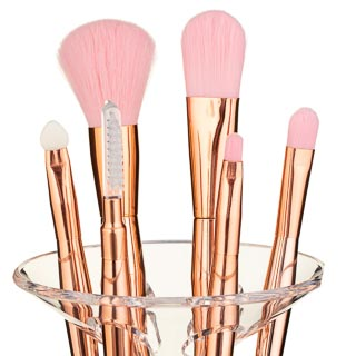 Cocktail Party Make-Up Brush Collection - Rose Gold