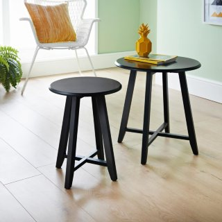Larson Set of 2 Tables - Black