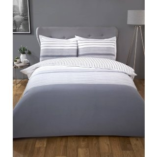 Silentnight Supersoft Printed Double Duvet Set