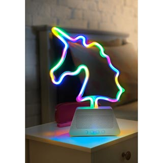 Byte Neon Light Unicorn Speaker