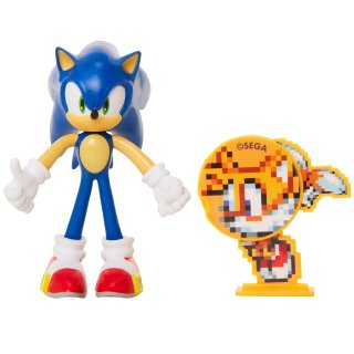 Sonic The Hedgehog 4 Bendable Action Figure Toys B M