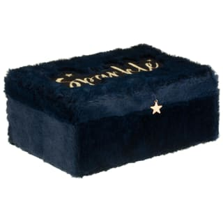 "Fluffy ""Sparkle"" Jewellery Box"