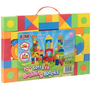 Brick by Brick Soft Building Blocks