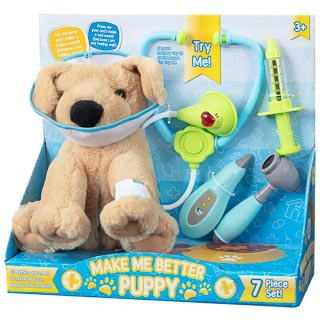 Make Me Better Puppy 7pc - Brown