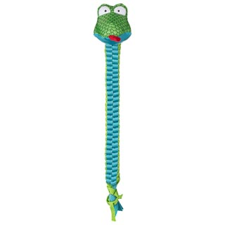 Mighty Python Tugging Dog Toy - Blue