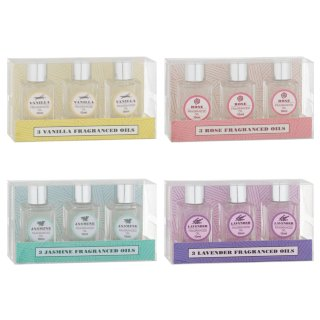 Essence Fragranced Oils 3pk - Lavender