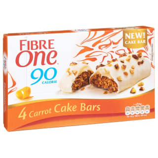 Fibre One Carrot Cake Bars 4pk