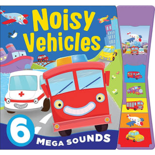 Noisy Board Book - Noisy Vehicles