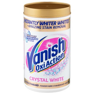 Vanish Gold Oxi Action Stain Remover Crystal White 1.5kg