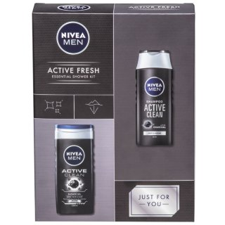 Nivea Active Fresh Essential Shower Kit