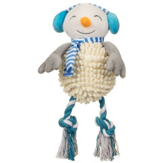 Christmas Giggler Dog Toy - Snowman