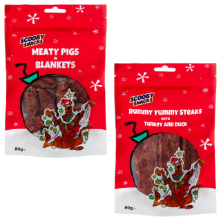 Scooby Snacks Meaty Pigs in Blankets 80g