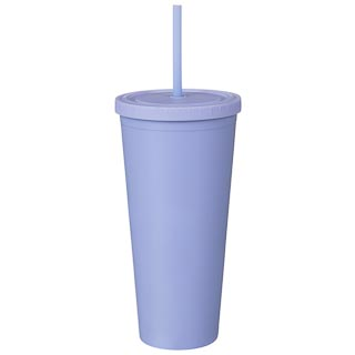 Soft Touch Soda Cup - Purple