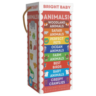 Chunky Board Book Tower - Animals