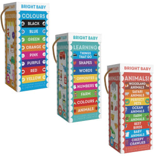 Chunky Board Book Tower - Learning