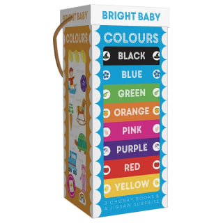 Chunky Board Book Tower - Colours