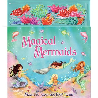 Magnetic Play Book - Magical Mermaids